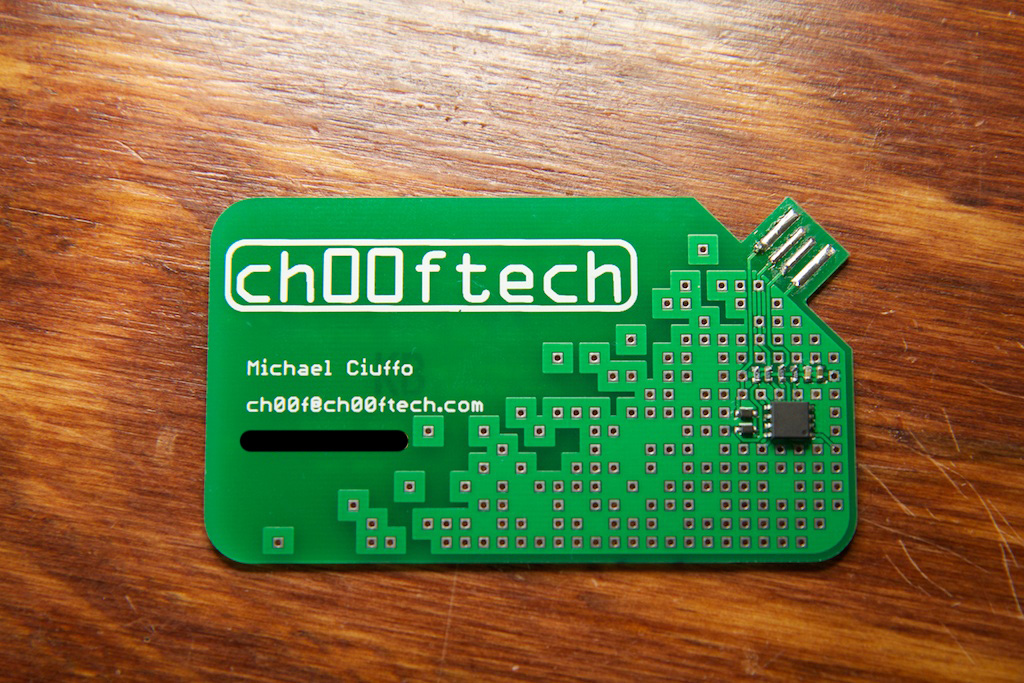Making a Cooler Business Card | ch00ftech Industries